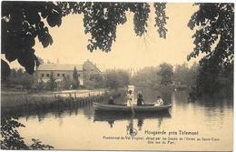 Hougaerde NA1: Pensionnat Du Val Virginal... Une Vue Du Parc - Hoegaarden