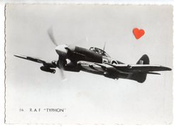 """10964-LE-AVIATION-R.A.F. HAWKER """"TYPHOON"""" - Flugzeuge"""