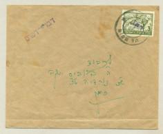 Israel / Palestina  - Overprinted Interimstamp On Local Cover Tel Aviv - Palestina