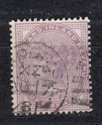 Großbritannien 1 P. Victoria 1881 -  Ovaler Balken-Stempel Und Kleiner 1 Kreis - Usati