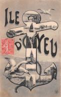 ¤¤  -   ILE D'YEU   -   Multivues  -  Ancre De Marine  , Mouettes  -  ¤¤ - Ile D'Yeu
