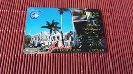 Antigua & Barbuda 6CATB Phonecard Used Rare - Antigua And Barbuda