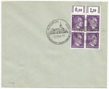 C433 - ALTKIRCH Type 2 - OBERELS Limé En ELS - 1944 - Timbre Type Hitler - Haut Rhin - Alsace - Guerre 39/45 - - Marcophilie (Lettres)