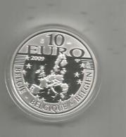Monnaie, BELGIQUE, 10 € , Argent  925/1000 , 2009 , LXXV Albertus Rex Annos Natus , 75 , 2 Scans ,  Frais Fr : 1.55€ - Belgium