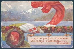 Piemonte Verbania Congresso Della Societa Nazionale Dante Alighieri PALLANZA - Verbania