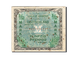 Allemagne, 1/2 Mark, 1944, KM:191a, Undated, B - [ 5] Ocupación De Los Aliados