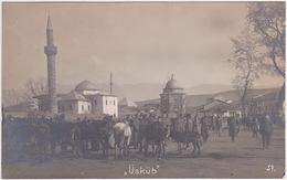 Macedonia - Skopje, Üsküb, Shkupi, Üsküp 1918 - Macédoine