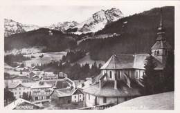 ABONDANCE - HAUTE-SAVOIE - (74) - CPA 1945 - BEL AFFRANCHISSEMENT POSTAL. - Abondance