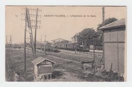 60 - ORMOY VILLERS / INTERIEUR DE LA GARE - Frankrijk