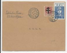25 AOUT 1944 - LIBERATION De PARIS - ENVELOPPE Avec OBLITERATION De La POSTE SPECIALE FFI - Postmark Collection (Covers)