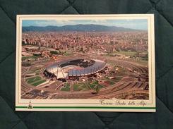 Cartolina Stadio Delle Alpi Torino Retro Annullo 211° Derby Della Mole 6-11-94 - Calcio