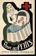 Carte Postale Unac Mai 1948 Concours De Ballon Croix Rouge Française Pour Nos Petits Nations Unies Sauvez L'enfance - Croce Rossa