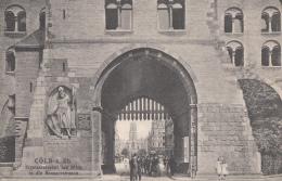 Allemagne - Cöln Köln - Eigelsteinertor Mit Blick In Die Neusserstrasse - Postmarked 1908 - Koeln