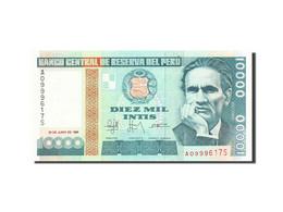 Pérou, 10,000 Intis, 1985-1991, 1988-06-28, KM:141, SPL - Pérou