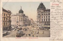 Hongrie - Budapest - Kerepesi-ut Részlete - Kerepeserstrasse - Postmarked 1902 - Hungary
