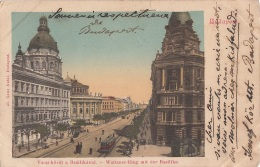 Hongrie - Budapest - Vaczi-körut A Bazilikaval - Hungary