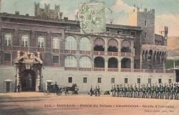 Monaco - Palais Princier - Carabiniers Militaria - Garde D'Honneur - 1909 - Palais Princier