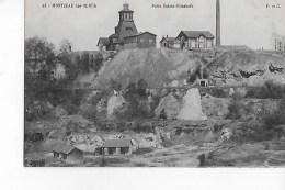 71  -  CPA  De  MONTCEAU  Les  MINES  -  Puits  Sainte - Elisabeth - Montceau Les Mines