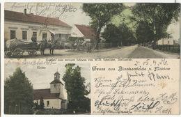 Gruss Aus Blankenfelde B. Mahlow Edit Richter Phot Zossen  Gasthof Zum Weissen Scwan Von Wihl. Schroder 1906 - Blankenfelde