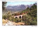 SOLLER, Mallorca, Baleares, Espana : Tren / TRAIN ; Viaduc; Pont ; TTB - Trains