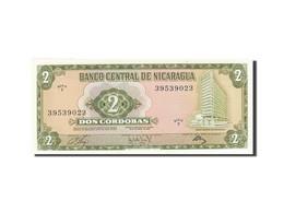 Nicaragua, 2 Cordobas, 1972, 1972, KM:121a, SPL - Nicaragua