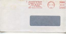 EMA Organisation,Association Ouvrière Des Compagnons Du Devoir Du Tour De France,lettre Villeneuve D'Ascq 18.3.85 - Organizations