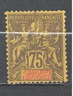 Guadeloupe: Yvert N°  38(*) - Ungebraucht