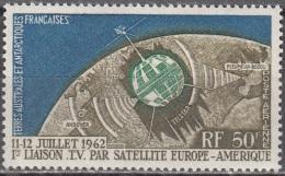 TAAF 1963 Yvert Poste Aérienne 6 Neuf ** Cote (2015) 40.00 Euro Télécommunications Spatiales - Poste Aérienne