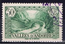 ANDF+ Andorra 1941 Mi 76 Brücke