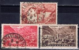 ANDF+ Andorra 1944 Mi 124 129 131 Landschaften