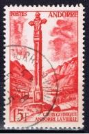 ANDF+ Andorra 1955 Mi 150 Gotisches Kreuz