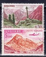 ANDF+ Andorra 1961 Mi 171 177 Meritxell, Berg - Andorra Francesa