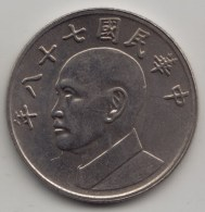 @Y@    Taiwan    5 Yuan     (3967) - Taiwan