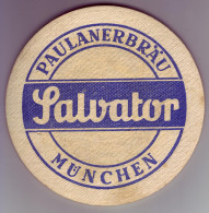 - SOUS-BOCK - PAULANERBRÄU SALVATOR - - Bierdeckel
