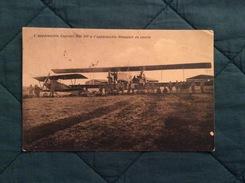 Cartolina Apparecchi Caproni Hp E Newport Da Caccia Guerra 15-18 Viaggiata Nel 1917 - Guerra 1914-18