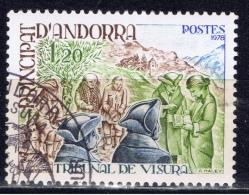 ANDF+ Andorra 1979 Mi 293 Visura - Andorra Francesa