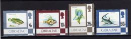 GIBRALTAR  1981 Poissons Fish Yv 420/421/423/424 MNH ** - Gibilterra