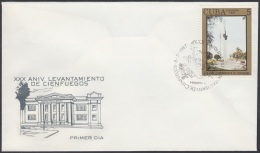 1987-FDC-45 CUBA. FDC. 1987. XXX ANIV LEVANTAMIENTO DE CIENFUEGOS. - FDC