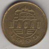 @Y@    Macau  10 Avos  1993         (3984)