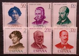 ESPAÑA 1970. Literatos. NUEVO - MNH ** - 1931-Today: 2nd Rep - ... Juan Carlos I