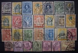 Alte Siam Markenlot 1888 - 1920 Gestempelt   (R1) - Siam