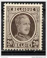 Belgique COB 196 * - 1922-1927 Houyoux