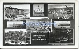 62194 CHILE VALPARAISO MULTI VIEW POSTAL POSTCARD - Chile