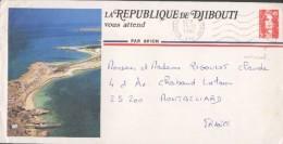 Deux Belles Enveloppes Décorées De Djibouti - Djibouti (1977-...)