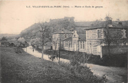 ¤¤  -   VILLENEUVE-de-MARC    -   Mairie Et Ecole De Garçons   -   ¤¤ - Frankrijk