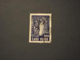 CABO VERDE - 1948 FATIMA - TIMBRATO/USED - Isola Di Capo Verde