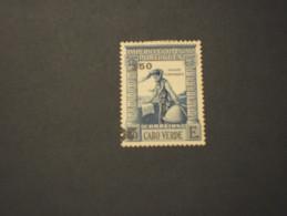 CABO VERDE - 1952 HENRIQUE 50 Su 1,75 (con Piega) - NUOVO(+) - Isola Di Capo Verde