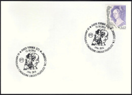 Italia Italy (2016) Special Postmark On Card: Formia; Tomba Di Cicerone/Cicero´s Tomb; Antica Roma/Ancient Rome As Scans - Storia