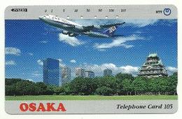 Giappone - Tessera Telefonica Da 105 Units T172 - NTT, - Avions
