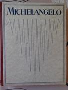 LIVRE D'ART SUR MICHELANGELO DE 1923 PAR FRITZ KNAPP PAR LES EDITIONS F.BRUCKMANN - MUNCHEN - Musées & Expositions